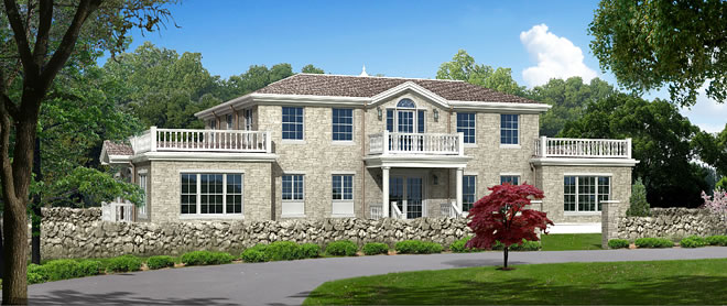 Vastu home in New England, USA