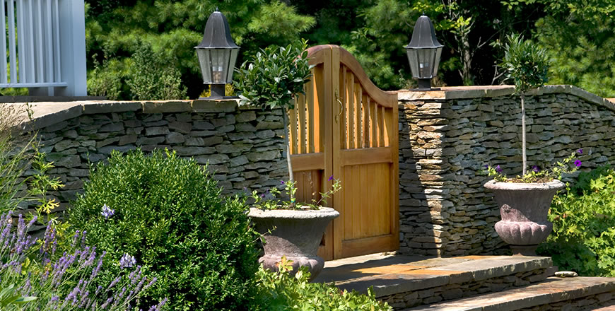 Vastu gate in Boone, North Carolina, USA