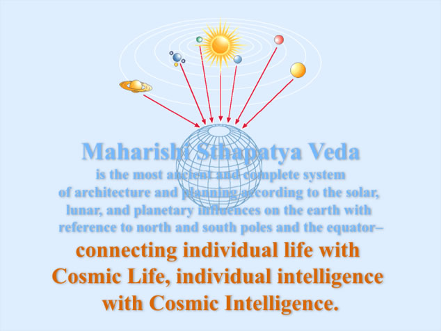 Vastu, connecting individual life with Cosmic Life
