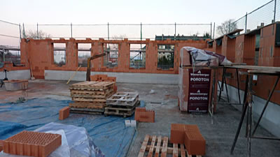 external wall bricks