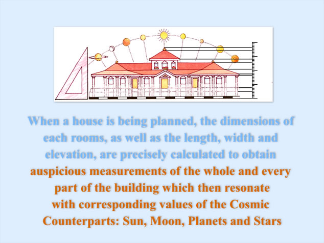 Vastu, dimension of rooms