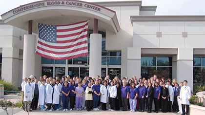 Comprehensive Blood and Cancer Center and patient happiness